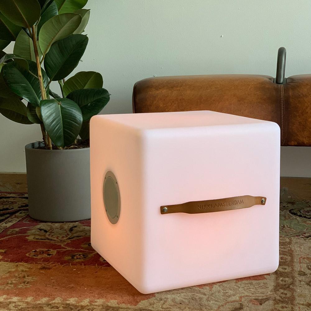Multicolor Kubus Bluetooth Speaker Lamp