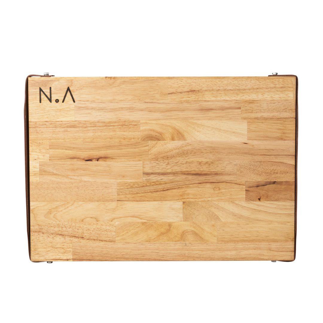 The.Board Rubberwood L Houten Serveerplank