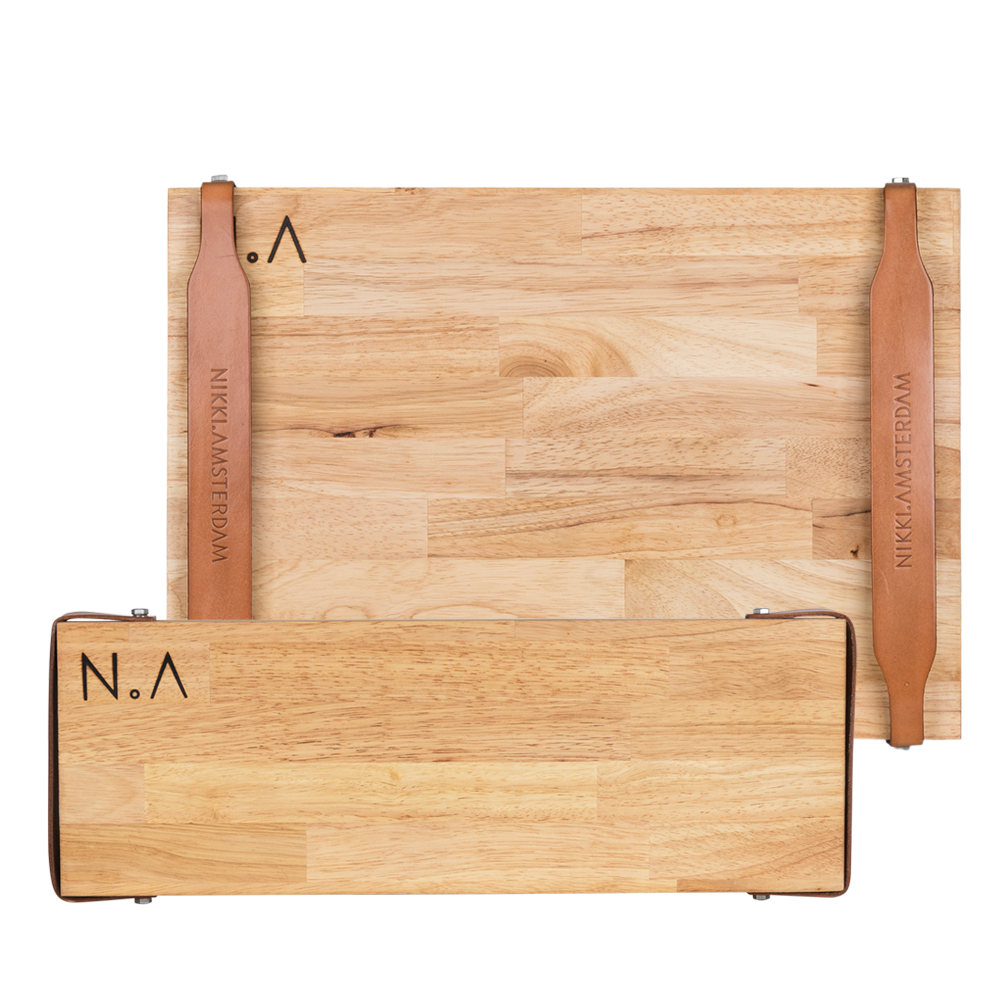 nikki-amsterdam-the-board-rubberwood-cutting-board-serving-plate-leather-handle